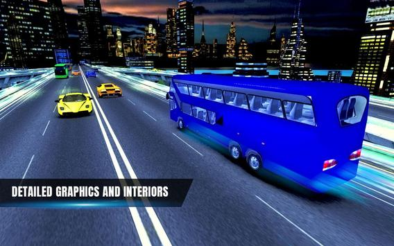City Coach Bus Simulator 17 - Real Parking Test 3D screenshot 2