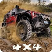 Muddy Off-Road 4x4 Truck Hill Climb Driver Sim 18 icon