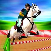 Ultimate Horse Jump Sim & Real Racing Championship icon