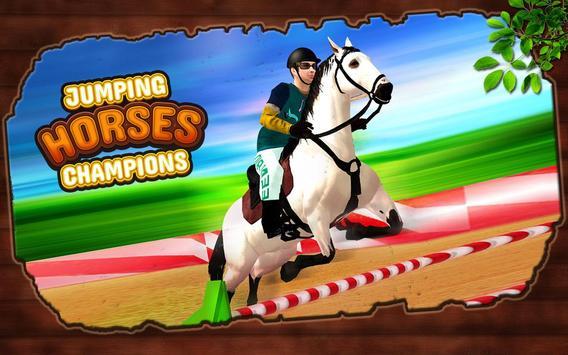 Ultimate Horse Jump Sim & Real Racing Championship poster