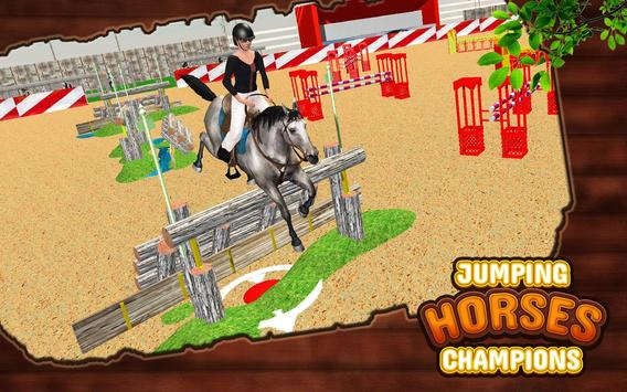 Ultimate Horse Jump Sim & Real Racing Championship screenshot 1