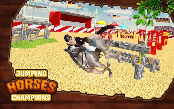 Ultimate Horse Jump Sim & Real Racing Championship screenshot 2