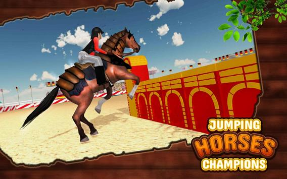 Ultimate Horse Jump Sim & Real Racing Championship screenshot 3