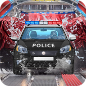 Police Car Wash Simulator icon
