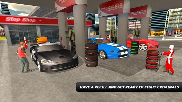 Police Car Wash Simulator screenshot 8