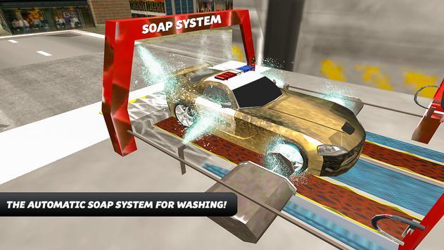 Police Car Wash Simulator screenshot 12