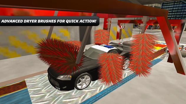 Police Car Wash Simulator screenshot 17