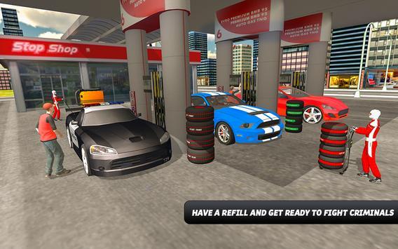 Police Car Wash Simulator screenshot 2