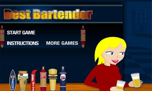 Best Bartender poster