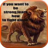 Courage & Strength Quotes ikona