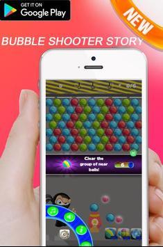 Ninja Bubble Shooter Extreme Story Shoot Bubble screenshot 4