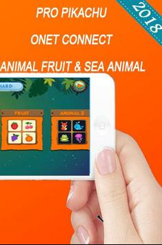 Pro Poke Connect all Onet best Fruit & Sea Animal screenshot 1