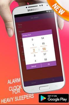 smart alarm Sleep If U Can wakeup Alarm Clock math apk screenshot