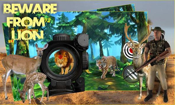 Safari Hunting Wild Sniper apk screenshot