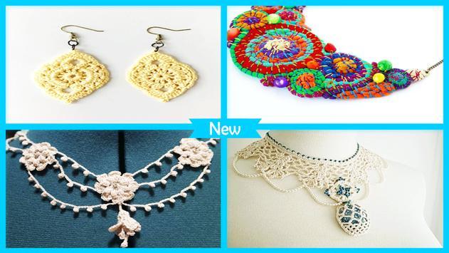Beauty Crochetd Jewelry Projets poster