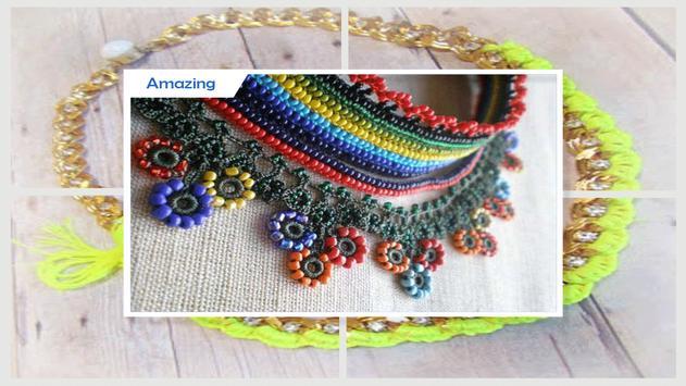 Beauty Crochetd Jewelry Projets screenshot 4