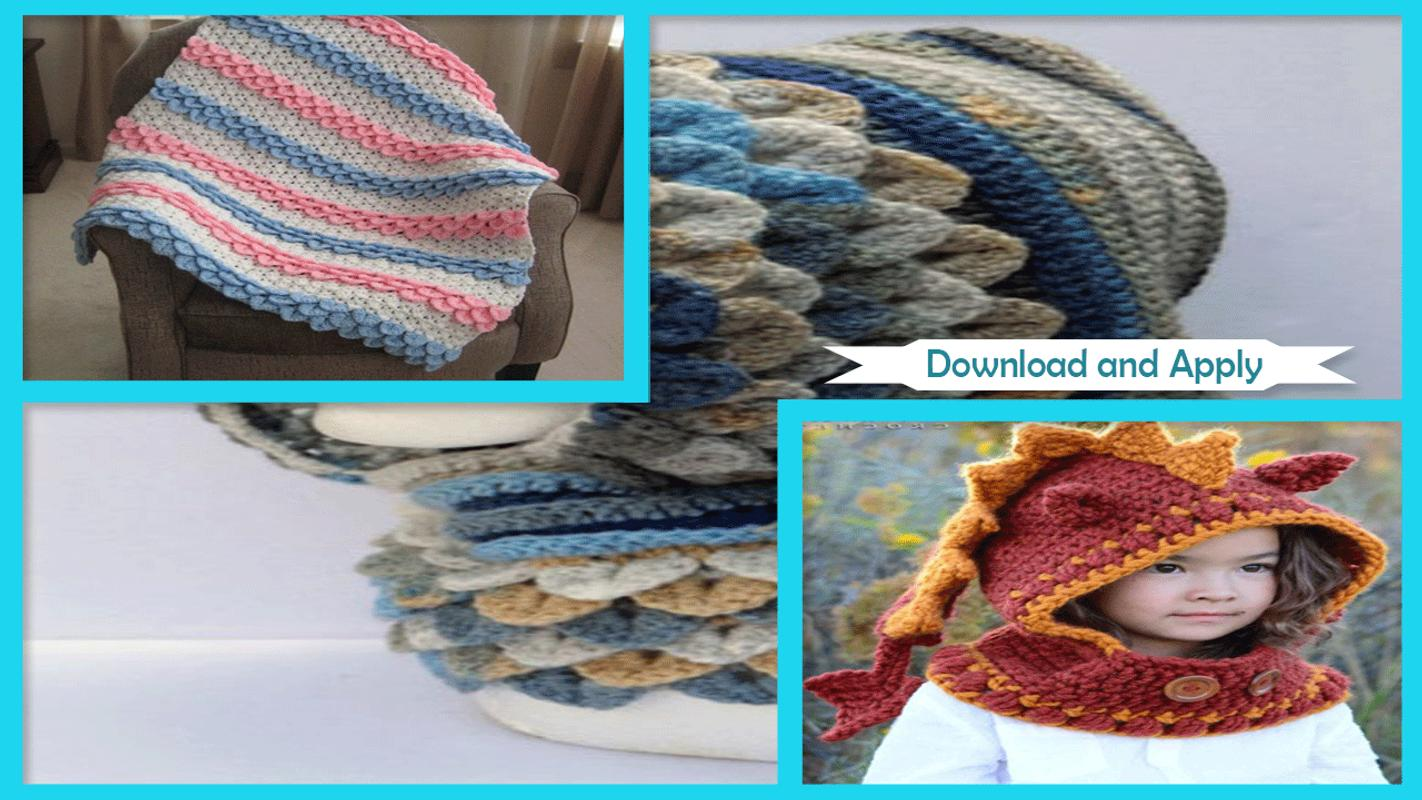 Easy Crochet Stich Hood Patterns For Android Apk Download