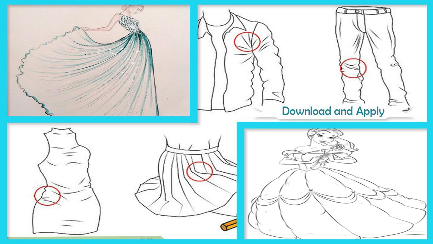7bc07103b30b3 Learn Draw Dresses Step By Step For Android Apk Download