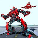 Air Robot Game - Flying Robot Transforming Plane APK