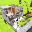आधुनिक घर डिजाइन और घर निर्माण खेल 3 डी APK