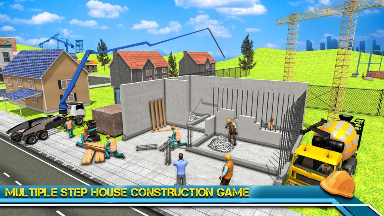 Modern Home Design & House Construction Games 3D For