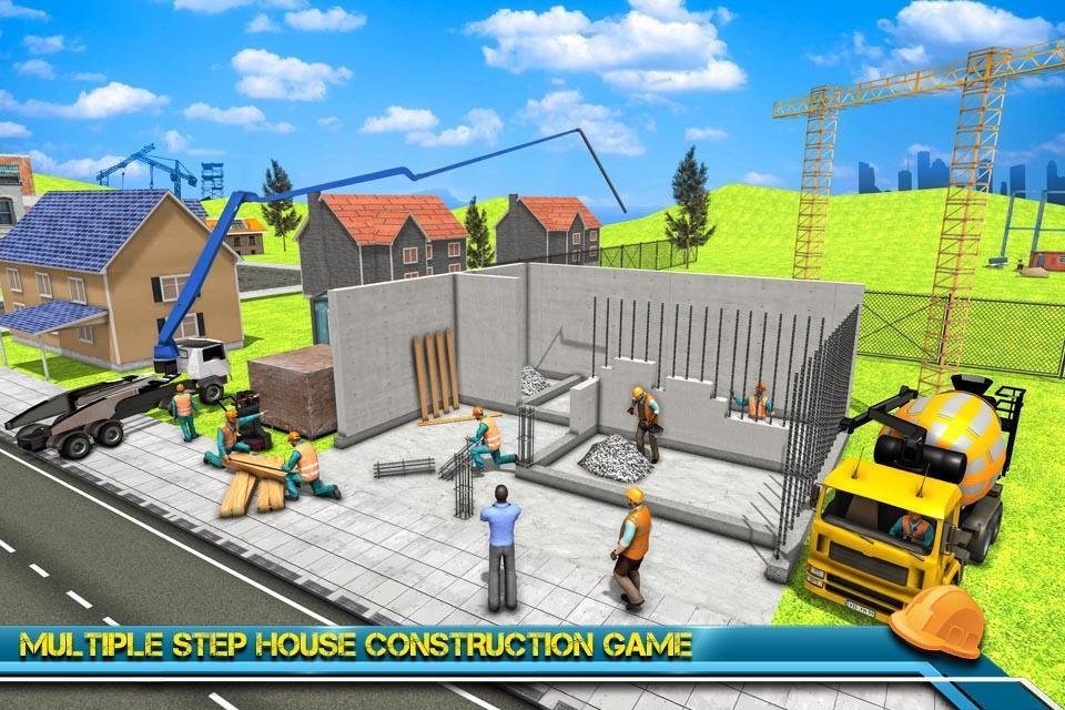 Modern Home Design House Construction Games 3d For Android