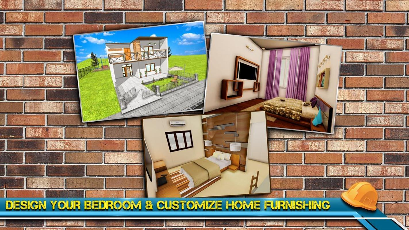 Modern home design house construction games 3d for android apk