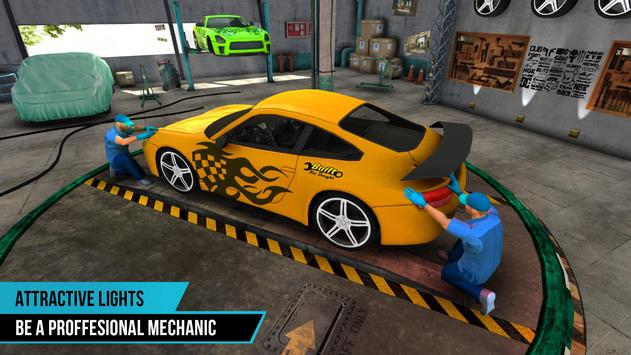 Car Mechanic Simulator Game 3D screenshot 1