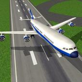 Air plane take off and landing Game icon