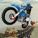 Rooftop Bike Rider Stunt Game APK