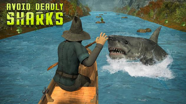 Shark Attack Raft Survival poster