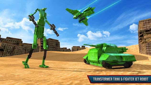 Tank Robot Transformation Game apk screenshot