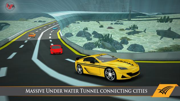 Underwater Taxi Driving Game poster