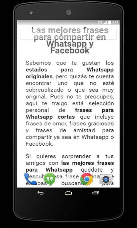 Frases Para Whatsapp For Android Apk Download