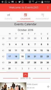 Events265 (Unreleased) apk screenshot
