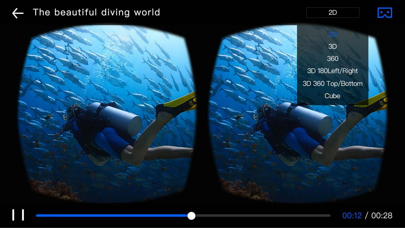d9877bfec7a2 Android için 3D VR Player - APK yı İndir