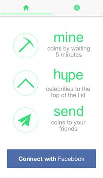 Hypecoin Social Currency poster