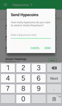 Hypecoin Social Currency apk screenshot