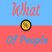 What % of people icon