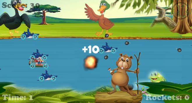 Race of Pirate Bonald Duck Run apk screenshot