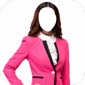 Office Girl Fashion Photo Frames icon