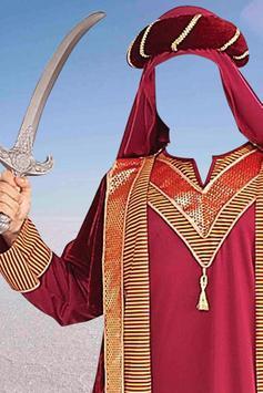 Arab Man Fashion Suit Editor poster