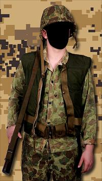 Army Force Outfit Photo Frames screenshot 4