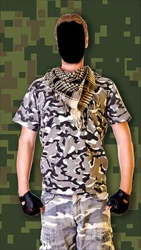 Army Force Outfit Photo Frames screenshot 1