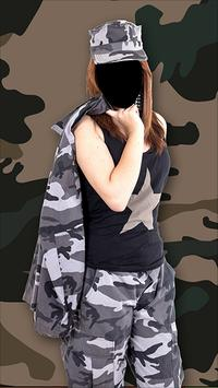 Army Force Outfit Photo Frames screenshot 2