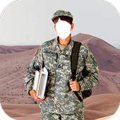 Army Soldier Outfit Photo Frames icon