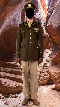 Army Soldier Outfit Photo Frames screenshot 2