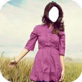 Beautiful Girl Jeans Style Photo Frames icon