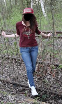 Beautiful Girl Jeans Style Photo Frames screenshot 11