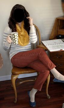 Beautiful Girl Jeans Style Photo Frames screenshot 4